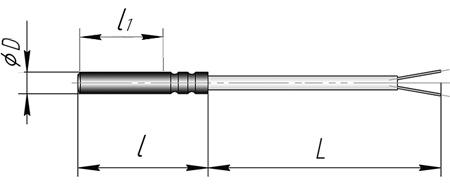 Термопреобразователь сопротивления ТСП, ТСМ - К2